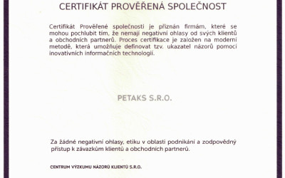 certifikat-proverena-spolecnost-2015